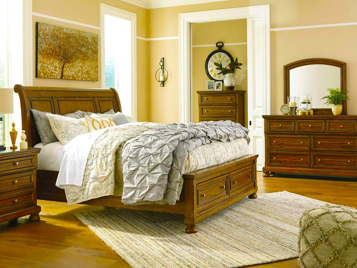 Flynnter Bedroom suite at MJM Furniture in Coquitlam