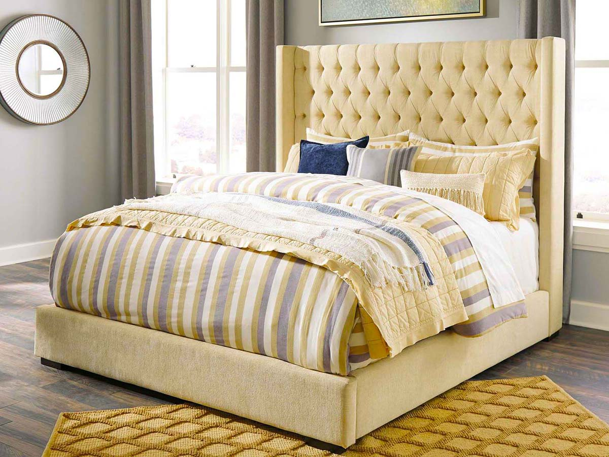 Norrister Upholstered Bed at MJM Furniture in Coquitlam
