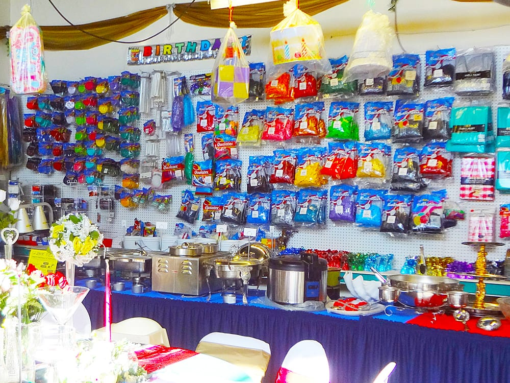 Balloons, Streamers, Piñatas at Surdel Party Rentals on Best in BC