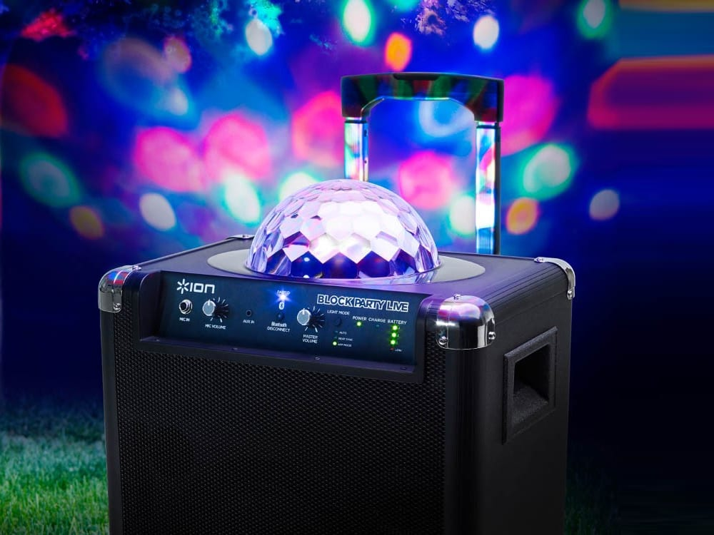 Block Party Live PA System with Lights at Surdel Party Rentals