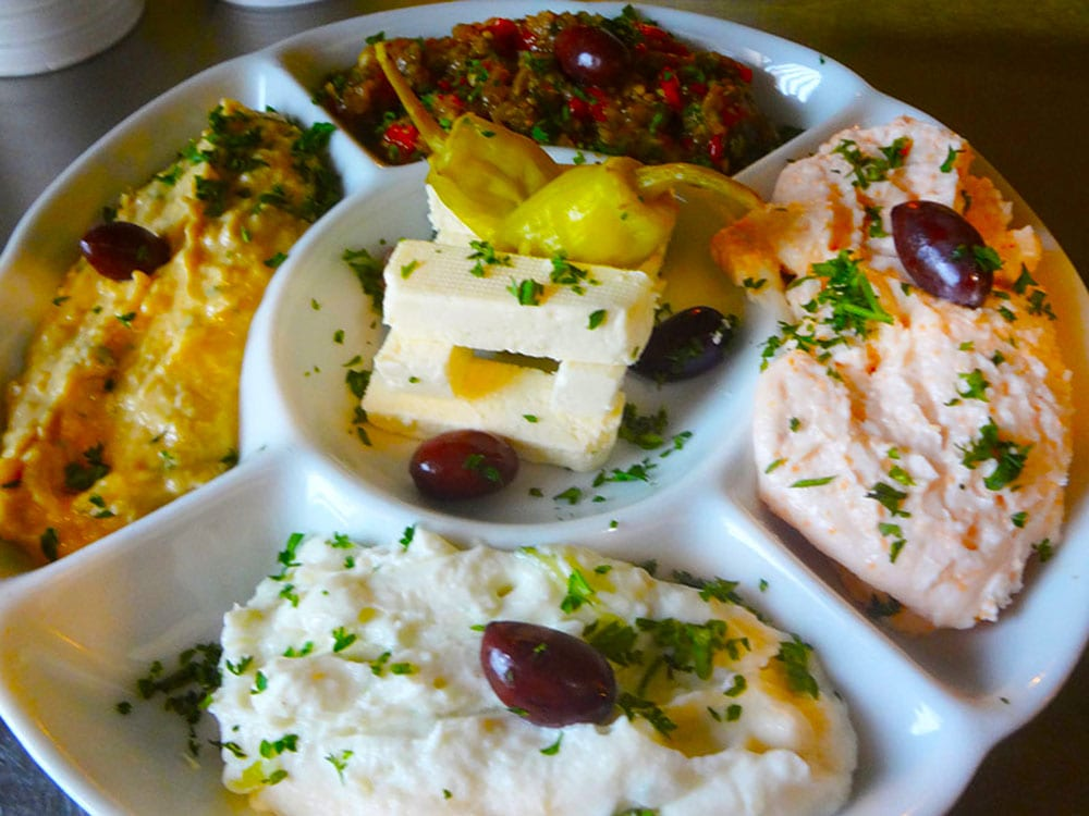 Cold Appetizer Platter at Kisamos Taverna on Best in BC
