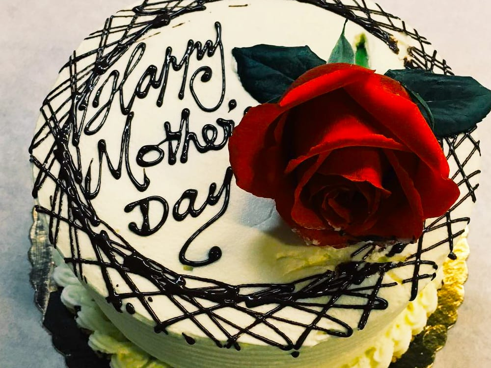 Happy Mother's Day Cake at Steveston Bakery on Best in BC