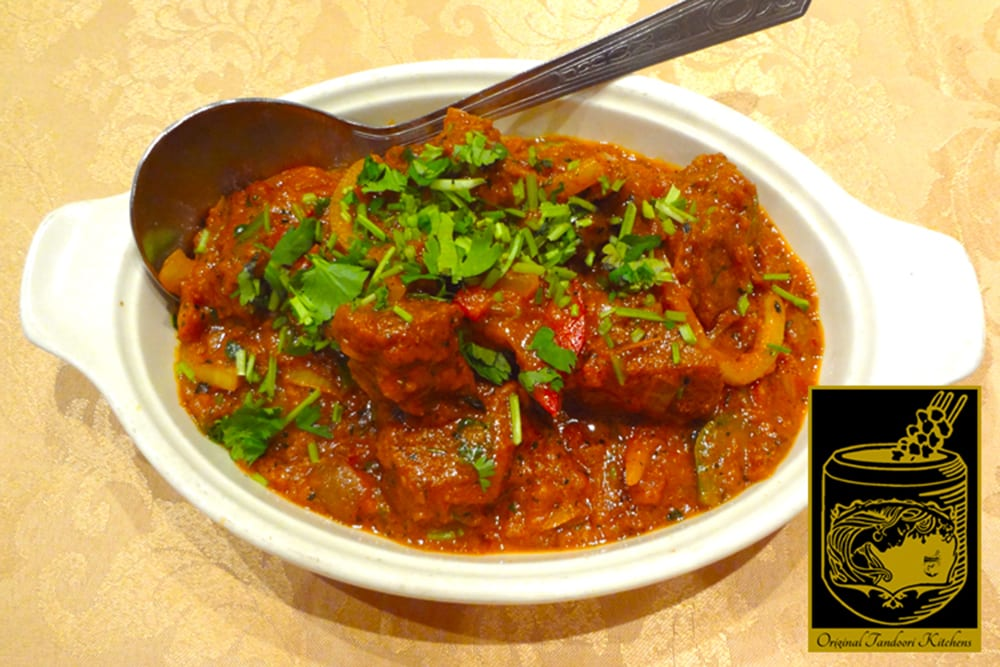 Lamb Tikka Masala ~ Tandoori Lamb Tikka cooked lightly in onion sauce, ginger, and tomatoes at Original Tandoori Kitchens