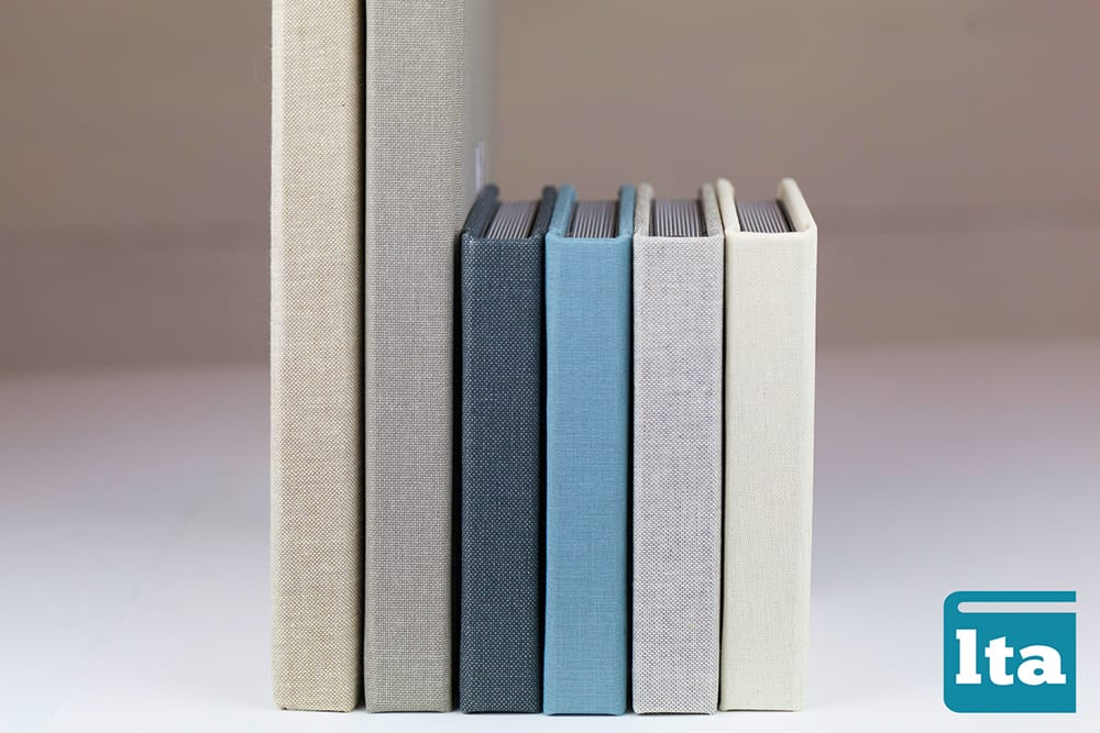 Linen and cloth cover albums by lifethreads ablums on Best in BC