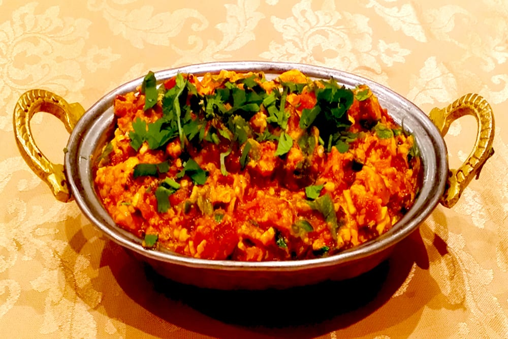 Paneer Bhurji at the Original Tandoori Kitchens