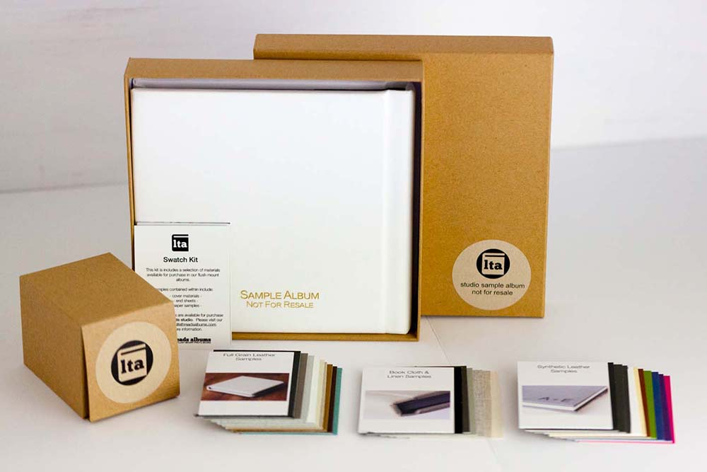 Sample Swatches, Studio Album, and Packaging by lifthreads albums