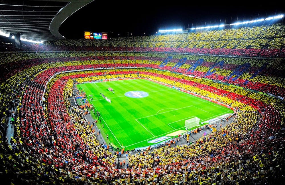 Take in a game at Camp Nou Stadium Barcelona, Spain with Columbus World Travel
