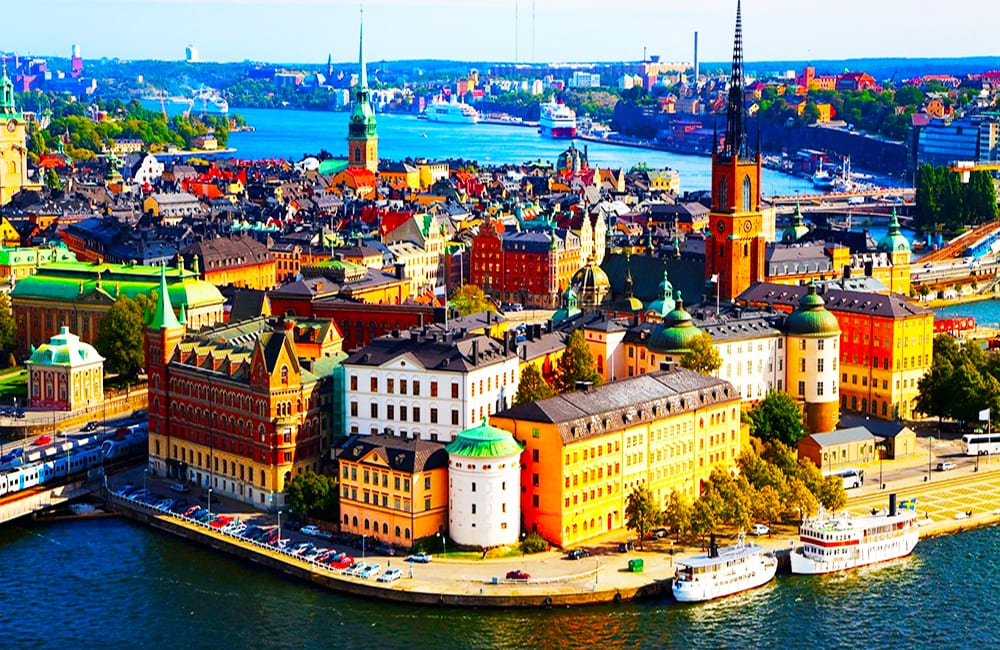 Travel Stockholm Sweden with Columbus World Travel on Best in BC