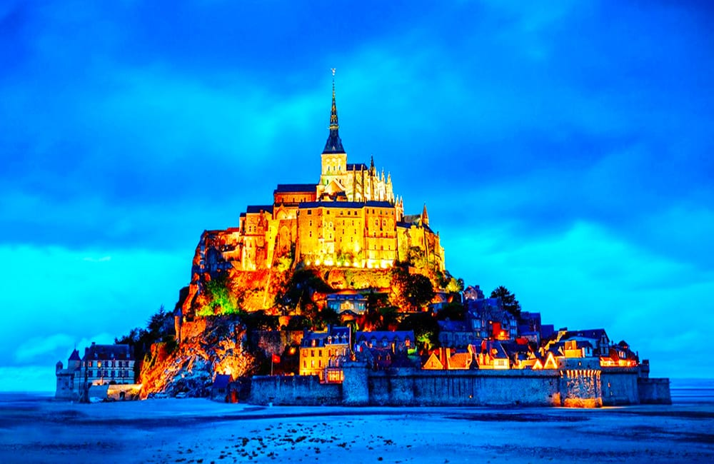 Travel to Mont Saint-Michel, France with Columbus World Travel